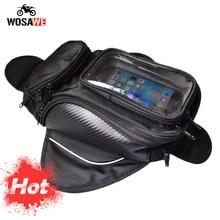 Мотоциклетная сумка на бак, водонепроницаемая мотоциклетная сумка на магните, сумка на плечо, чехол для телефона, для IPhone, Xiaomi, большой сенсорный экран