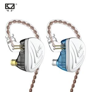 Image 1 - KZ AS16 16BA üniteleri dengeli armatür Hifi bas kulak kulaklık gürültü iptal kulakiçi kulaklıklar için kulaklıklar
