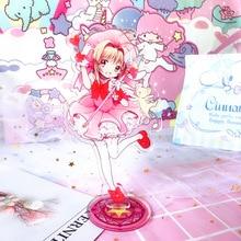 Model-Plate-Holder Captor Standing-Plate Acrylic-Stand Anime-Card Sakura 1pcs 15cm Figure