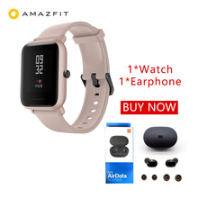 Huami Amazfit Bip Lite Smart Watch Bluetooth TWS Sport Heart Rate Monitor 3M Waterproof Amazfit bip lite Smartwatch 2019