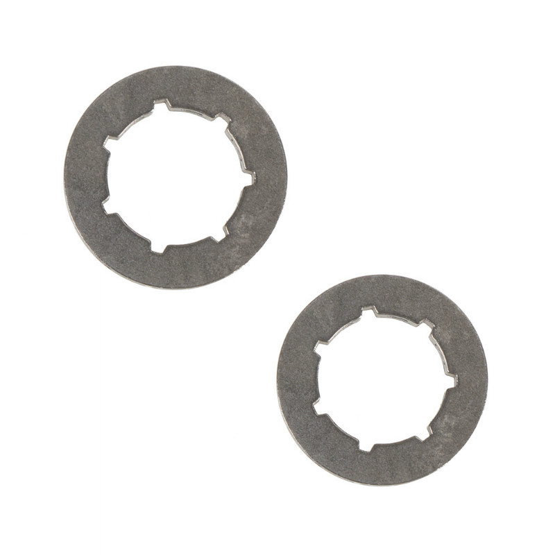2Pcs Tool Parts Metal Chainsaw Spare Part Chain Saw Sprocket Rim Power Mate 325-7T For Chainsaw Replacement 45cc/52cc/4500/5200