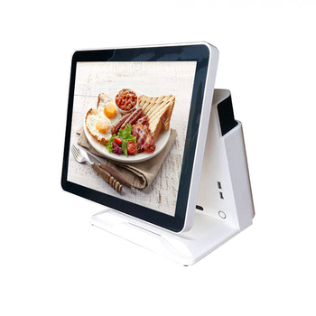 cash register 15 inch pos all in one pos system lower price capacitive touch  pos hardware windows pc computer windows
