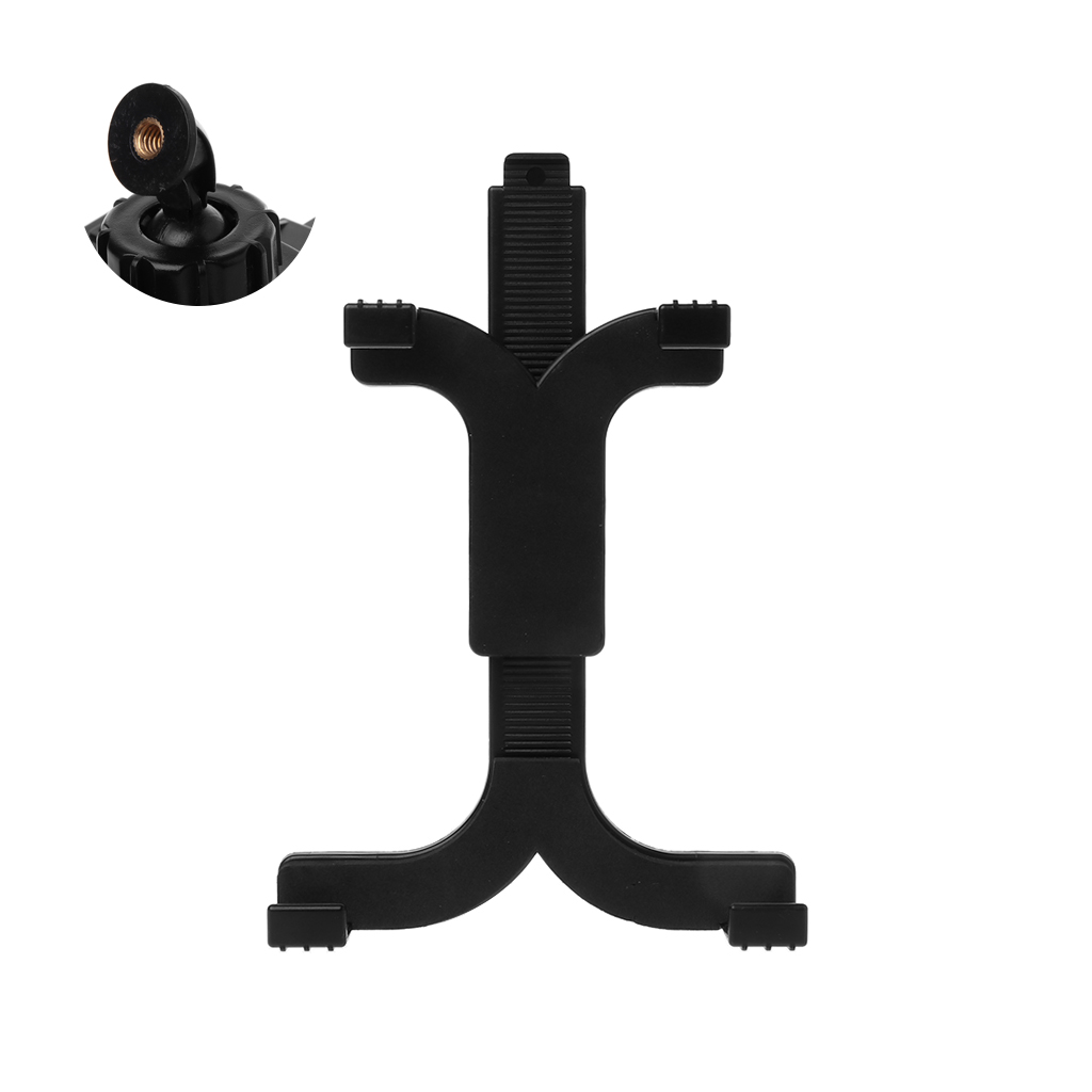 "Tablet Holder 7-11"" Computer Retractable Bracket Clip Adjustable Self-Stick Tripod Mount Stand Accessories for Apple iPad"