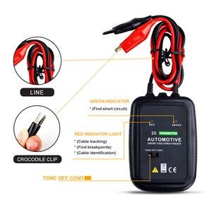 Image 3 - Holdpeak HP 25 Automotive Cable Wire Tracker Tester, per Airbag, automobile linee e la Macchina linee di Installazione e Manutenzione