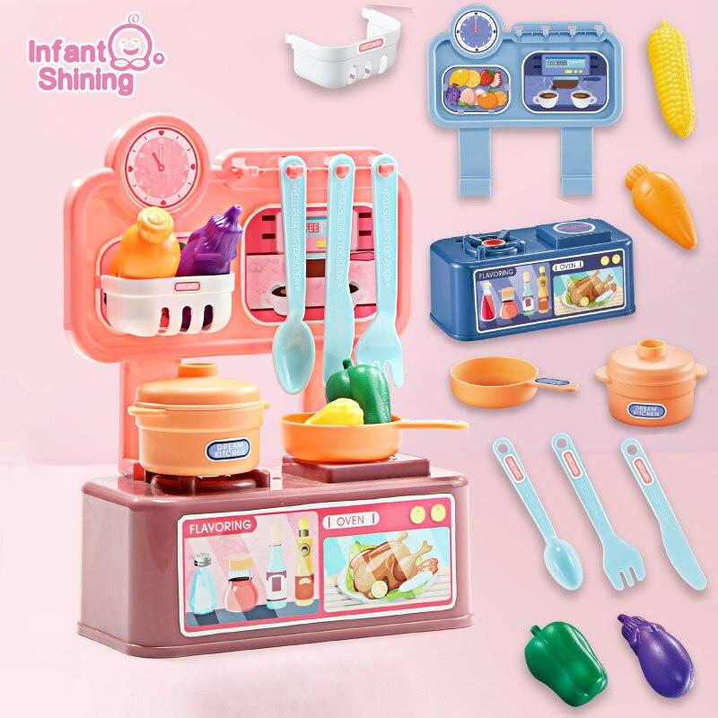 Kitchen Set For Kids Pretend Play 12pcs