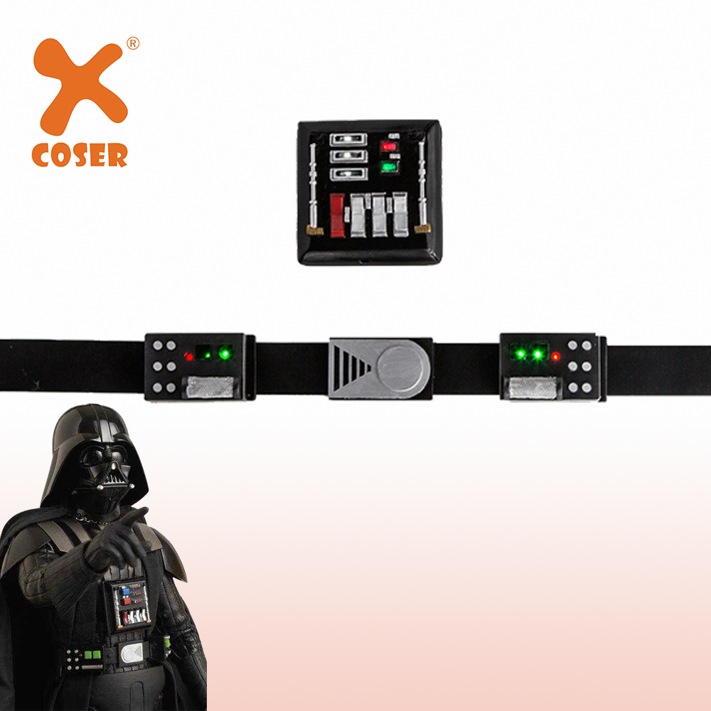 Xcoser Darth Vader Cosplay Belt And Chest Plate Props With Led Lights Updated Version Cosplay Costume Accessories Cosplay Prop