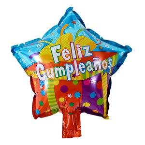 25 шт./лот 10 дюймов Feliz Cumpleanos, испанские воздушные шары на день рождения, Круглый Гелиевый шар из майлара вечерние воздушные шары для вечеринки в честь Дня Рождения Воздушные шары и аксессуары      АлиЭкспресс