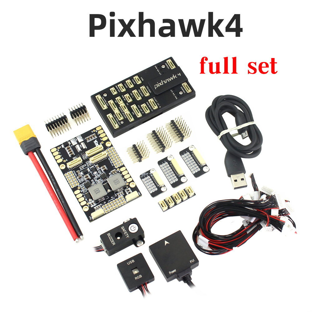 Pixhawk 4 PX4 Flight Control M8N GPS Power Management Board With OTG Cable PPM I2C Combo Kit