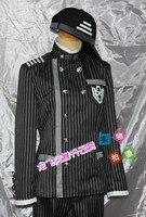 Sıcak Anime Danganronpa V3: öldürme Harmony Saihara Shuichi Cosplay kostümleri okul üniforması Unisex giyim S-L veya özel herhangi bir