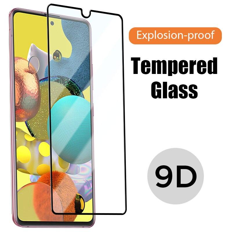 9D Cobertura Completa Protetor de Tela para Samsung UM 10 20 30 40 50 70 vidro Temperado para Samsung A50 A40 A30 A20 A10 A70 Filme HD