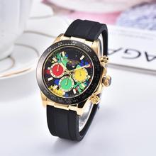 Luxury Brand Three-Handed Diary Men's AAA Quartz Watch Camouflage Dial Three-dim