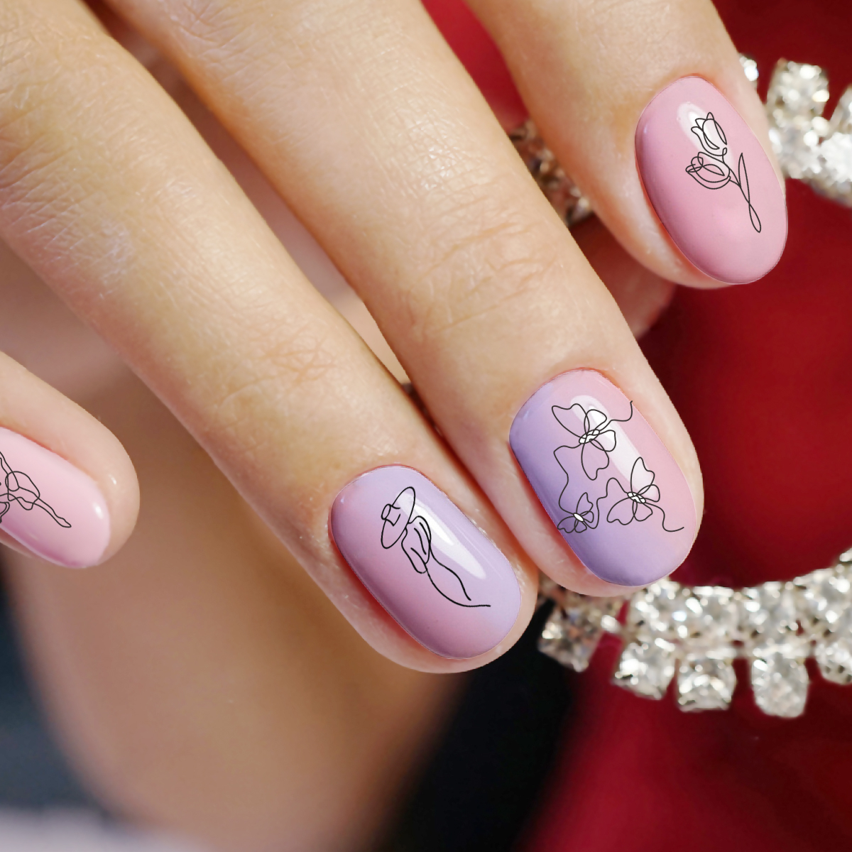 Image 5 - BEAUTYBIGBANG 6*12cm Nail Stamping Plates Nail Template Flower Animal Pattern Nail Stamp Nail Art Stamp Image Template-in Nail Art Templates from Beauty & Health