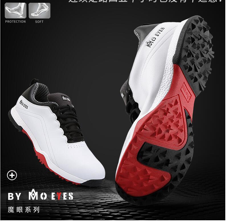 Sapatos de Golfe dos homens de Microfibra
