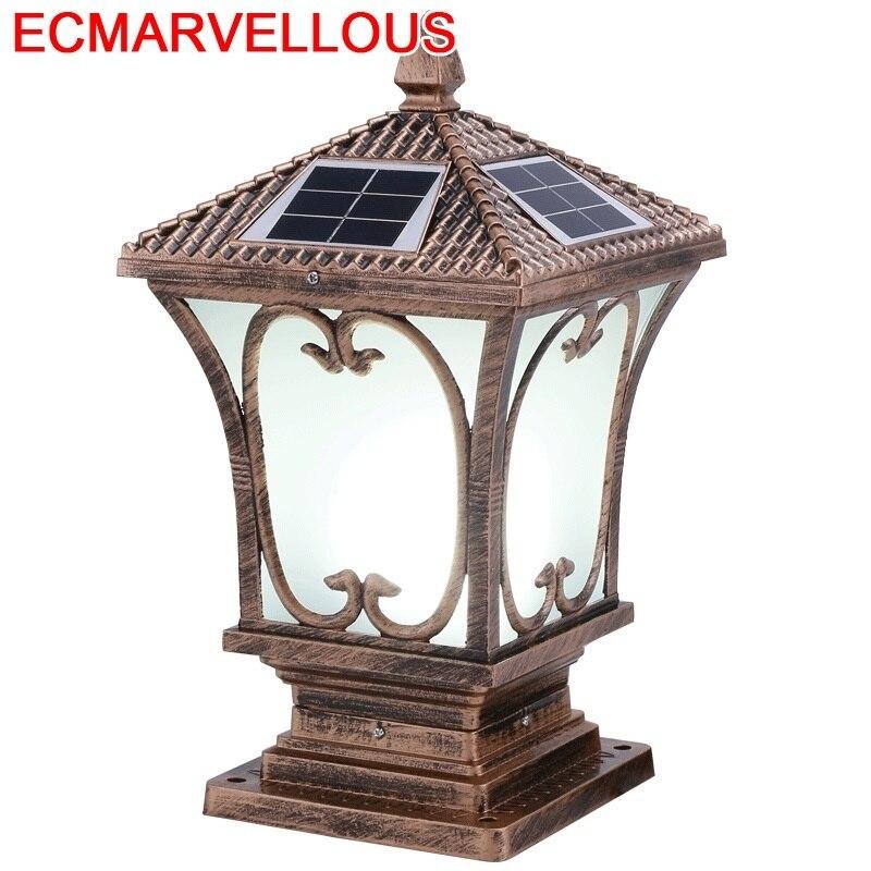 Noel Sapin barre Bancone Lampione Da Giardino LED solaire Exterieur Luminaire Exterieur Terraza Y Jardin Decoracion eclairage paysage