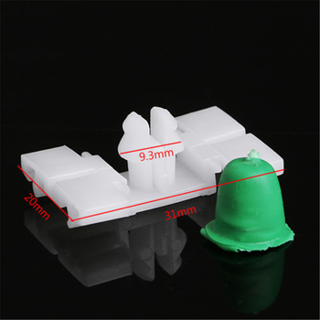 Rubber Car Clips Skirt Molding With Boots For BMW E36 Plastic 20PCS Sale High Quality Accessory image