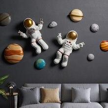 [Mgt] europa originalidade espaço astronauta resina moderna casa hotel parede pendurado decoração arte ornamentos artesanato estátua