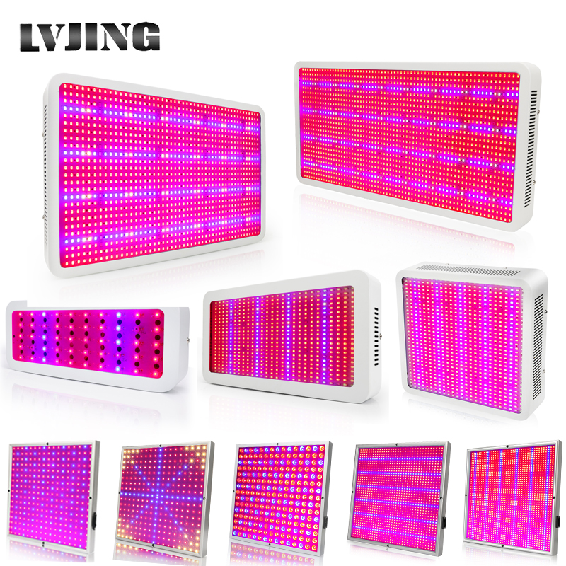 20W ~ 1600W Full Spectrum LED Plant Grow Lámparas de luz para Flower Plant Veg Hydroponics System Grow / Bloom Acepta Dropshipping