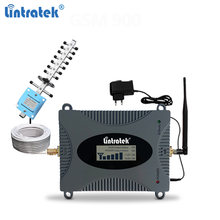 Lintratek 4G Signal Repeater 1800Mhz Booster GSM 900 Repeater 3G 2100MHz CDMA 850 LTE GSM Mobile Signal Amplifier Voice/Data