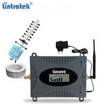 Lintratek 4g repetidor de sinal 1800mhz impulsionador gsm 900 repetidor 3g 2100mhz cdma 850 lte gsm amplificador de sinal móvel voz/dados