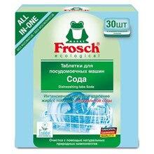 Таблетки для мытья посуды в ПММ Frosch, 30 шт