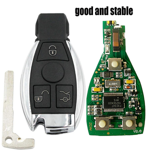 Image 1 - 3 Button Smart Remote Key 315mhz/433mhz fob for Mercedes Benz after 2000+ NEC&BGA replace NEC Chip