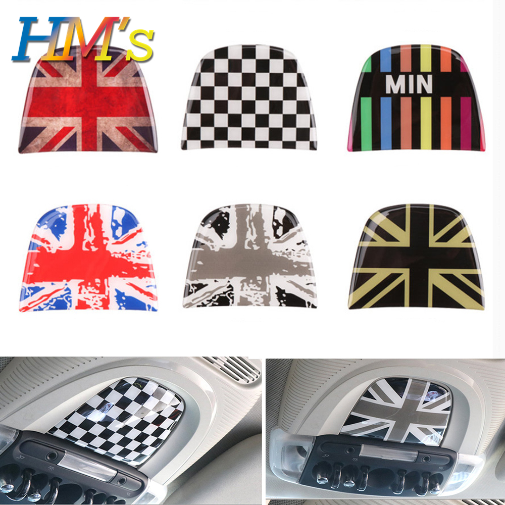 For Mini Clubman F54 Car Reading Light Lamp Stickers For Mini Cooper F56 F55 Styling Decro Accessories For Mini Countryman F60