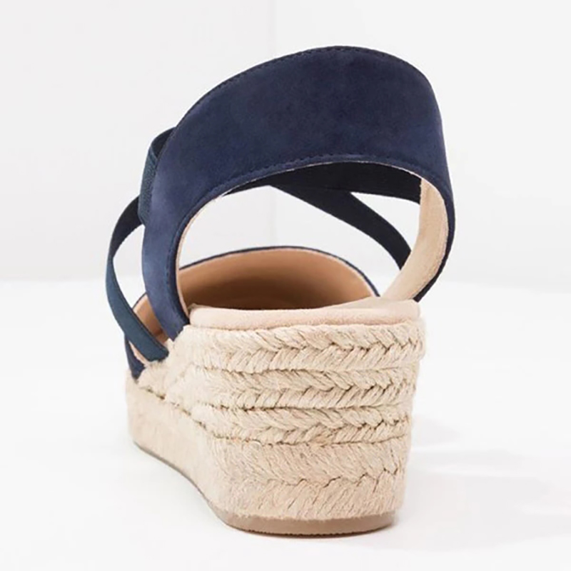 Had5759c463d9470fa774b84fd92f0651Q Women Wedges Sandals shoes woman Casual Summer Gladiator Retro Female Sandals Flock Ladies Party Office women Shoes dropshipping