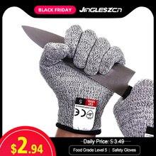 1 paar Snijbeschermingshandschoenen Food Grade Niveau 5 Bescherming Veiligheid Keuken Bezuinigingen Handschoenen voor Oyster Vis Vlees Snijden Veiligheid handschoenen