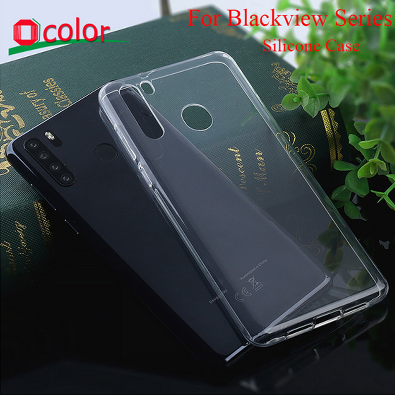 Phone Case For Blackview A80 Pro BV9600 Pro BV9800 Silicone Case TPU Soft Back Case For Blackview BV9700 Pro BV9800 Pro(China)