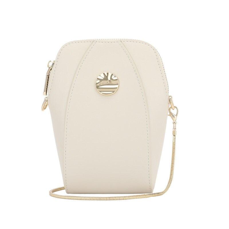 Mini-Mobile téléphone petit sac femme 2019 chaîne Shell paquet unique épaule Messenger véritable cuir luxe sacs à main designer