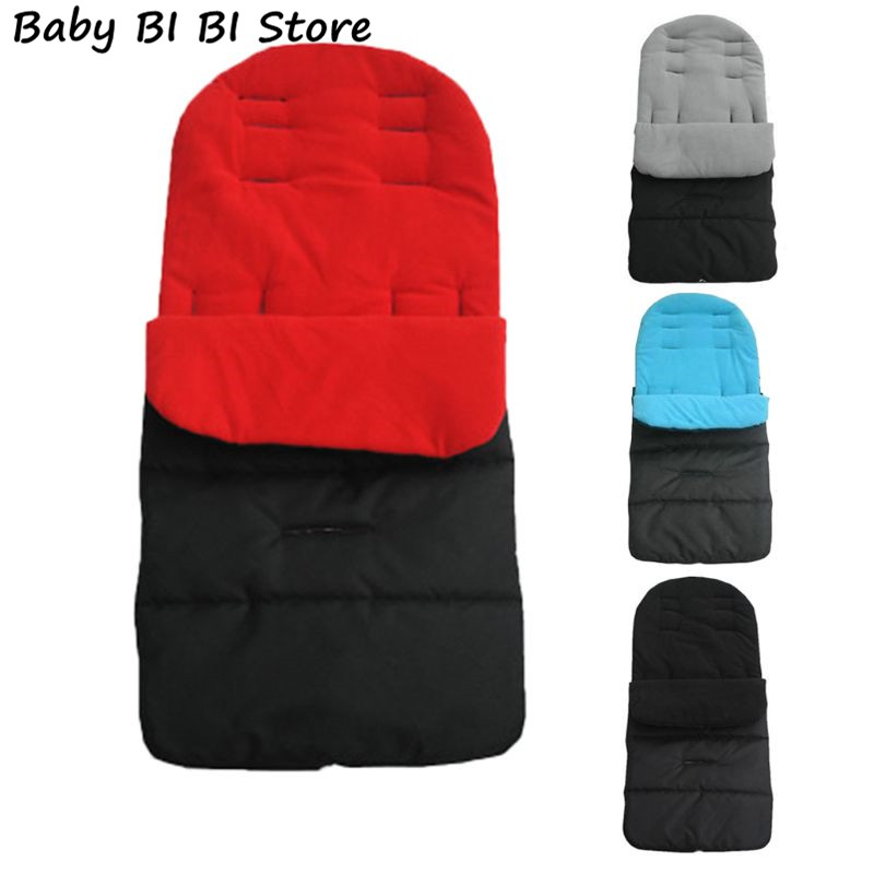Multi-function Baby Stroller Sleeping Bag Children Kids Trolley Thickened Swaddle Windproof Waterproof Warm Foot Cover