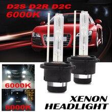 FDCHT bi luces car headlight bulbs xenon d2s d2r 6000k 8000k hid kit 35w lights ballast bulb canbus zenon moto ds2 d2c