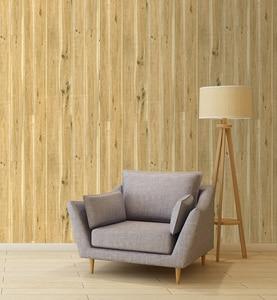 Image 2 - 45 センチメートル * 6 メートルヴィンテージフェイク木材の壁紙ビニール自己接着壁紙 3d リビングルームのためのデスク壁の装飾