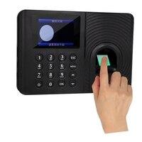 Ppyy novo a10 sistema de comparecimento do tempo da impressão digital relógio gravador de reconhecimento do empregado dispositivo de gravação máquina eletrônica (plugue da ue|Peças e acessórios em 3D| |  -