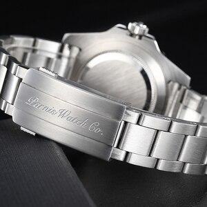 Image 4 - بارنيس 40 مللي متر الميكانيكية الرجال الساعات GMT الياقوت الكريستال رجل ساعة رجالي التلقائي relogio masculino دور العلامة التجارية الفاخرة 2019 هدية