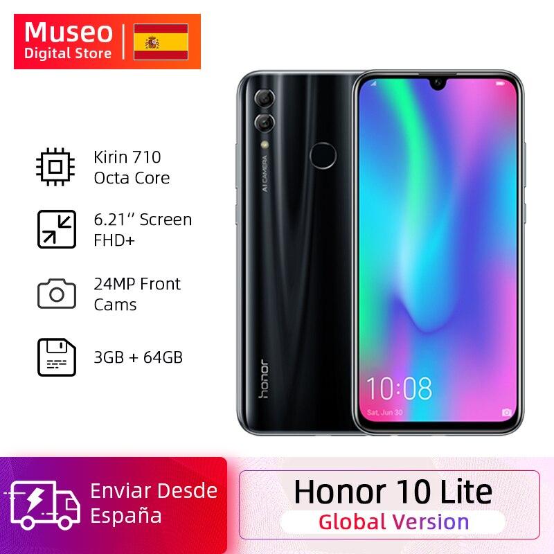 Global Version Honor 10 Lite Smartphone Kirin 710 Octa Core 6.21