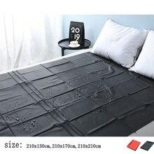 SPA Waterproof Sheet PVC Plastic Adult Sex Bed Sheets Waterproof Hypoallergenic Mattress Cover Hotel essential oil