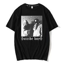 Męska koszulka $ uicideboy $ samobójstwo dorosła męska koszulka Suicideboys Hip Hop Rap koszulka męska bawełniana koszulka klasyczna fajna koszulka Plus rozmiar