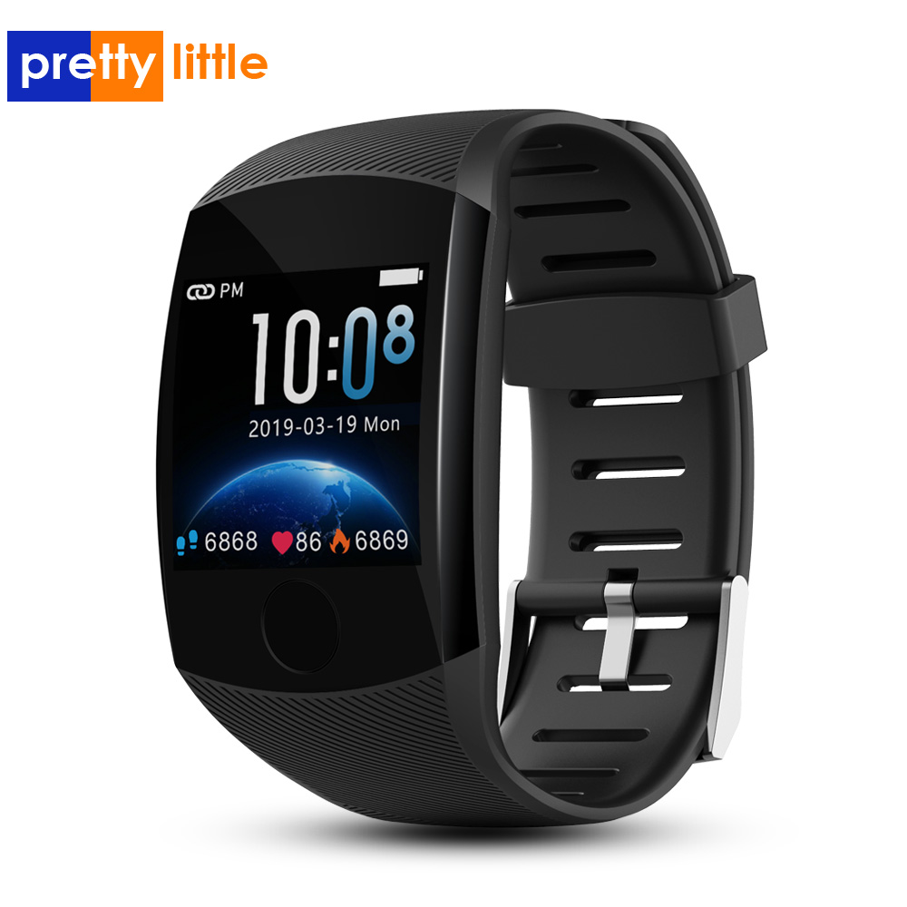 Q11 Smart Watch Waterproof Fitness Bracelet Big Touch Screen <font><b>OLED</b></font> Message Heart Rate Time Smartband Activity Tracker sport watch image