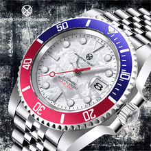 PAGRNE PROJETO Marca De Luxo Relógio Mecânico Anel de Cola 100 Metros À Prova D' Água Relógio Moda Branco Relogio Uасы Mужские