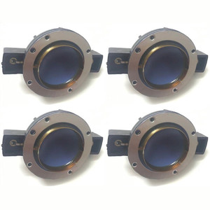 4pcs Aluminium Speaker Diaphragm Tweeter Voice Coil Repair Kit 32 mm Blue For Electro Voice DH3 DH2010A DH2010 EV32 Driver E300(China)