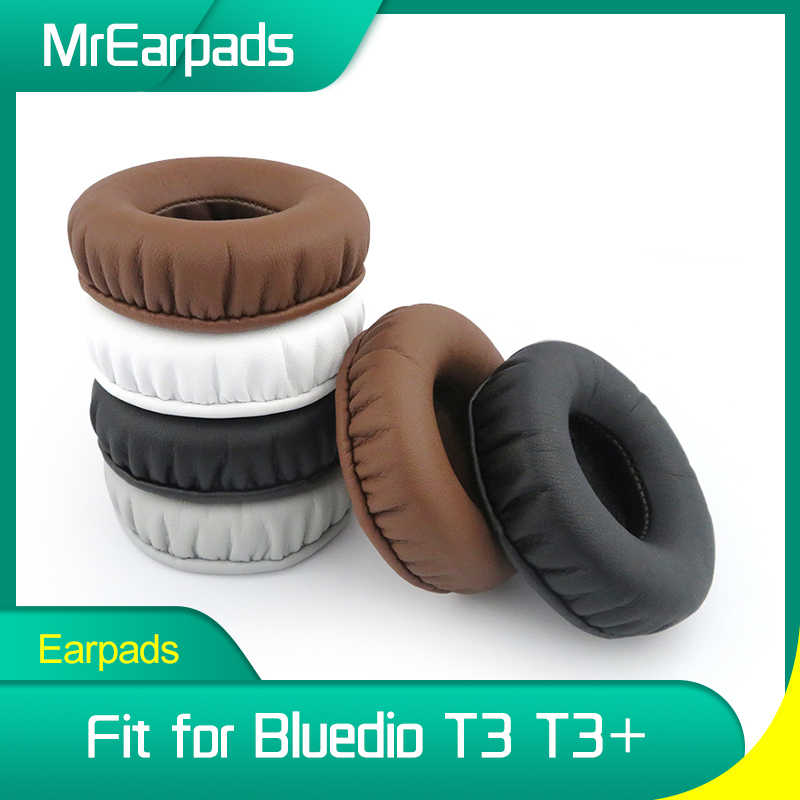 MrEarpads Earpads עבור Bluedio T3 T3 + בתוספת אוזניות סרט Rpalcement אוזן רפידות Earcushions חלקי