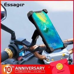 Essager Đế Kẹp Điện Thoại Xe Máy Cho Iphone Huawei Di Động Điện Thoại Đứng Tay Cầm Kẹp Moto Gắn Chân Đế Hỗ Trợ Giá Đỡ ĐTDĐ