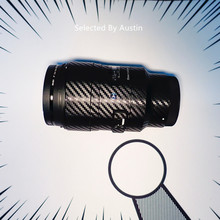 שריטה עמיד עדשת עור לעטוף כיסוי מגן ללבוש מקרה עבור Sigma 35 F1.4 50 F1.4 85 F1.4