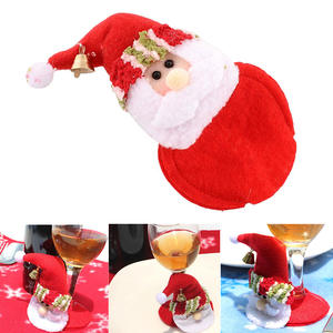 Pad Placemats Table Coffee-Decor Christmas-Coasters Xmas Tea Red Home Cup-Pad-Cup Party-Drinks