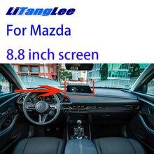 Interfaccia telecamera retromarcia Liislee backup aggiornamento Monitor originale per schermo Mazda 2020 da 8.8 pollici