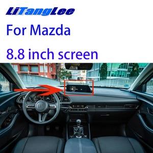 Image 1 - Liislee Reversing Camera Interface Back Up Original Monitor Upgrade For Mazda 2020 8.8 inch screen