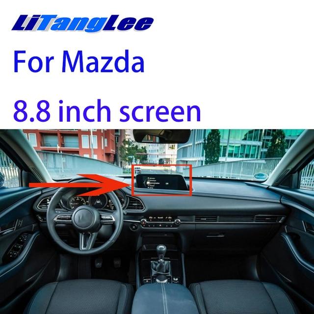 Liislee Reversing Camera Interface Back Up Original Monitor Upgrade For Mazda 2020 8.8 inch screen
