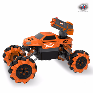 Image 4 - 1:16 Wireless Remote Control 2 IN1 Hubble bubble Water Jet Drift RC car Resistance To Fall Motor driven Stunt Automobile dance