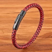 Geometrische Muster Multi-schicht Zubehör Schwarz herren Leder Armband Luxus Schmuck Valentinstag Geschenk Freies Verschiffen